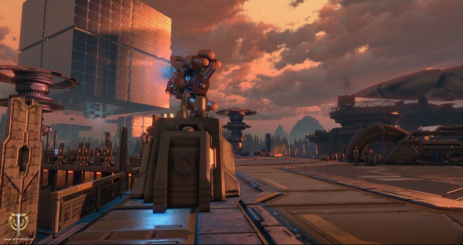 Skyforge Mechanoid Invasion