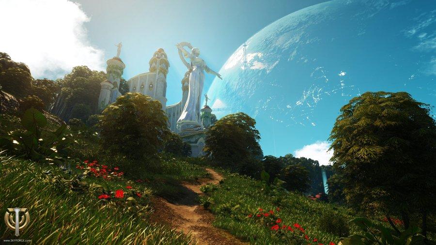 Sci-fi island by Con-Tessa on DeviantArt
