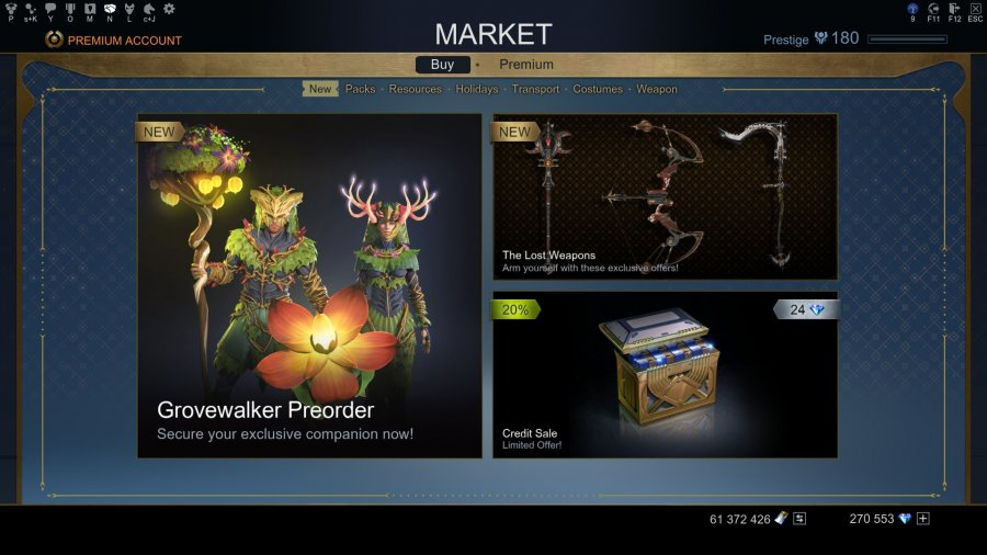 Marketplace | Skyforge - Become А God in this AAA Fantasy