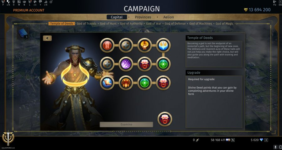 Ascension: Divine Specializations | Skyforge - Become А God in ...
