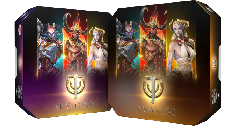 Skyforge Divine Packs