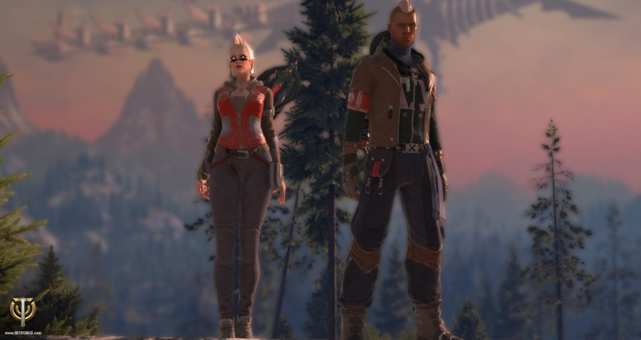 Skyforge Anarchy Costume 2